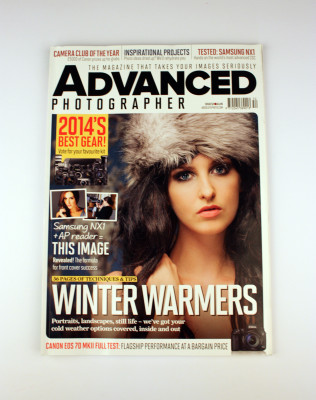 Advanced Photographer Magazine Cover