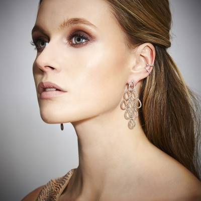 Pia Hallstorm Jewellery photo shoot, hair and makeup
