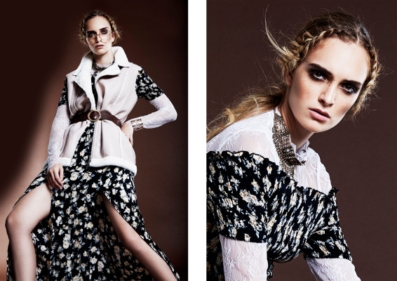 Select fashion bohemian editorial page 1