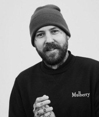 Mulberry male worker head shot